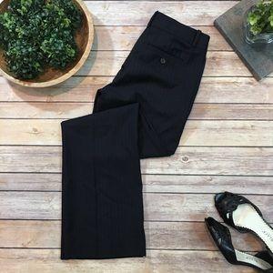 Size 0P Petites J. Crew City Fit Pinstriped Pants
